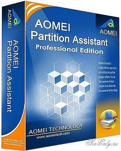 AOMEI Partition Assistant BootCD + Partition Assistant Technician Edition 7.5 Portable by PortableApps – продвинутый менеджер жесткого диска