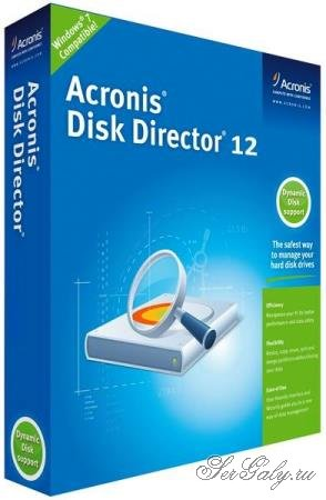 Acronis Disk Director 12 Build 12.5.163 RePack by KpoJIuK