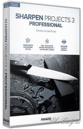 Franzis SHARPEN projects 3 professional 3.31.03465 + Rus